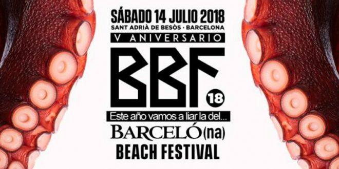 Barcelona Beach Festival 2018 sigue cogiendo forma