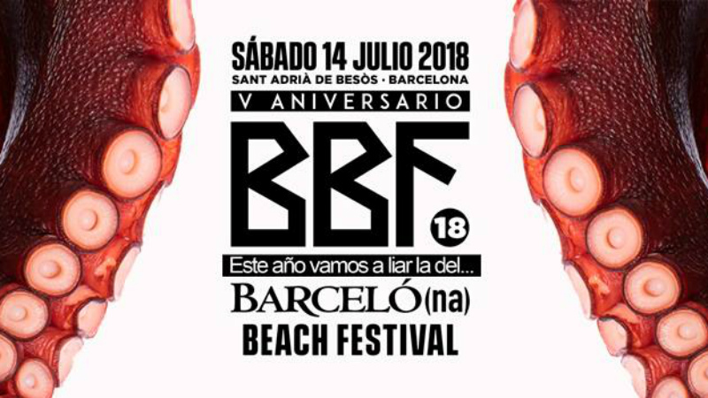 Photo of Barcelona Beach Festival 2018 sigue cogiendo forma
