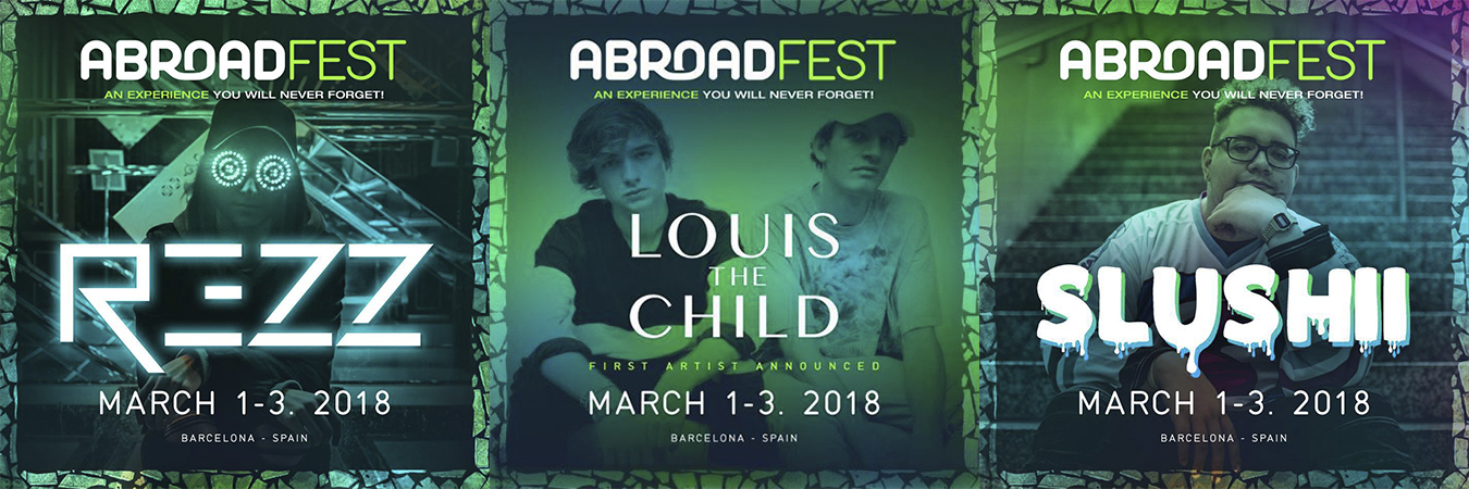 rezz-louis-the-child-slushii-abroadfest REZZ y Slushii se unen a Louis The Child para AbroadFest 2018