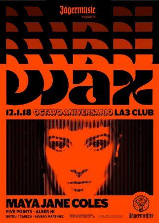 25550638_1217436871723332_8538500372950409160_n-322x450 Maya Jane Coles estará en Valencia el 12 de enero
