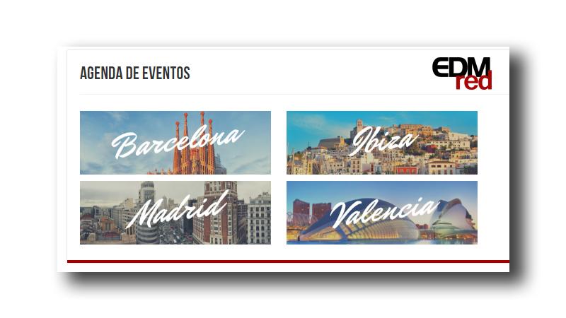 Photo of Agenda de eventos en EDMred