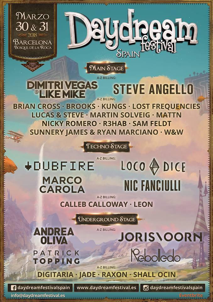 DayDream-Festival-Spain-nuevo-avance Steve Angello, Dubfire y Loco Dice se unen a Daydream Festival
