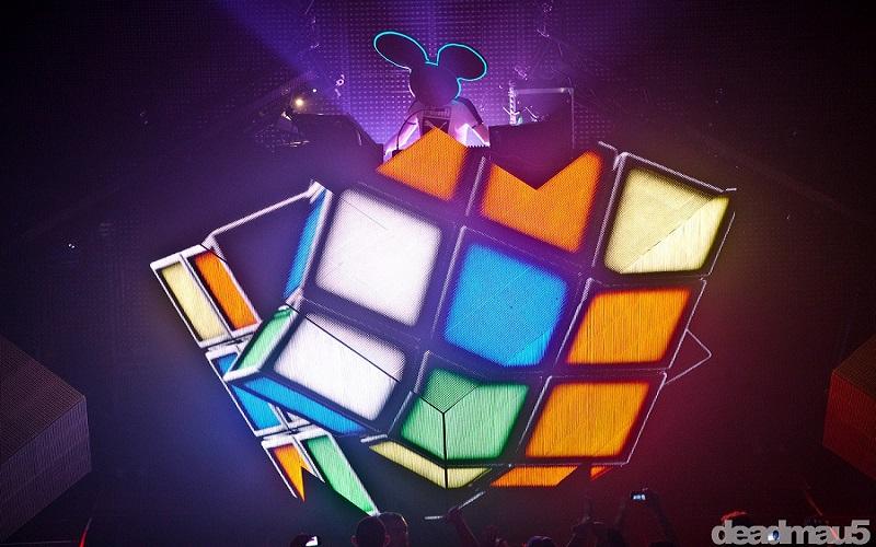 Photo of Dentro del cubo de deadmau5