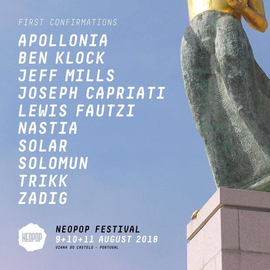neopop-primeras-confirmaciones-EDMred Neopop Festival anuncia los primeros artistas para su edición de 2018