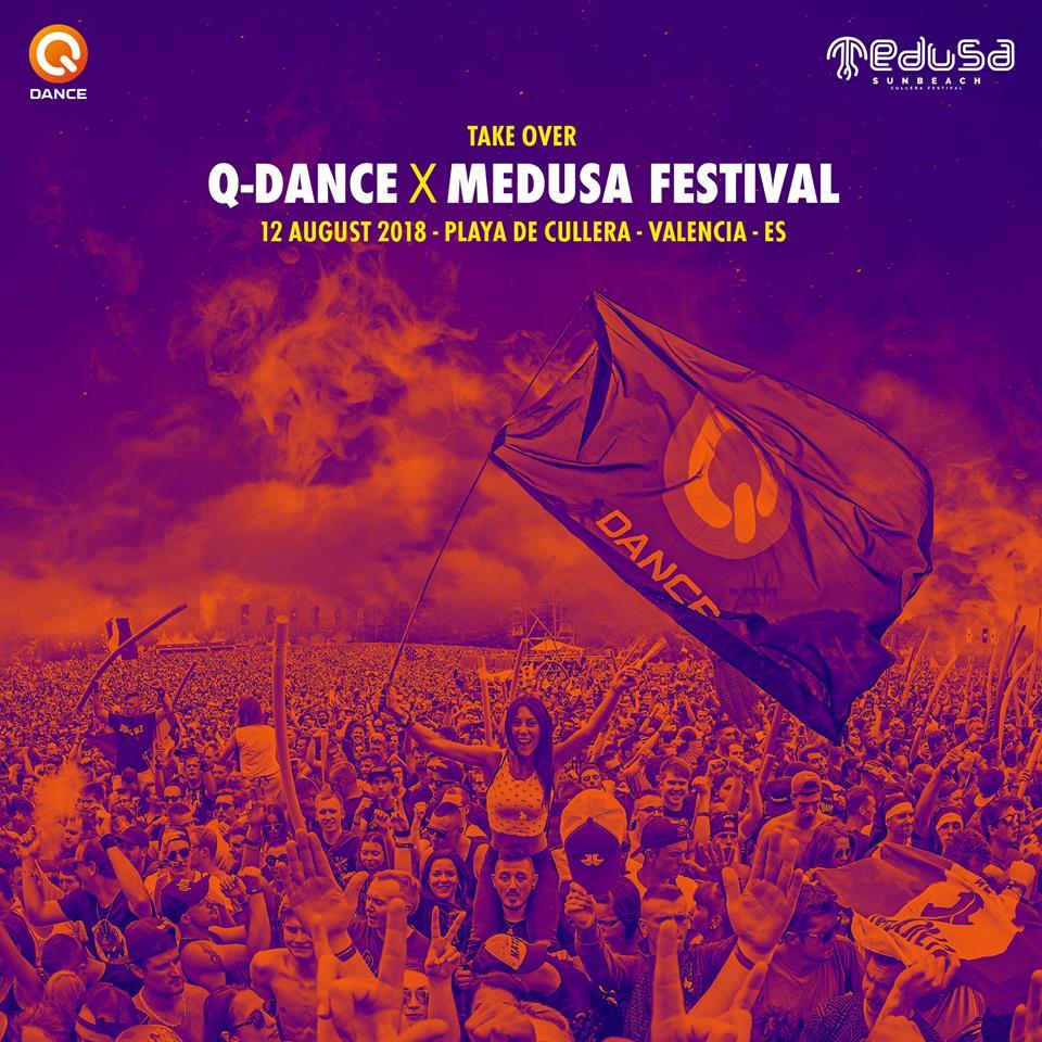 q-dance-medusa-EDMred Ferry Corsten, Carl Cox, Headhunterz y Q-dance se unen al cartel de Medusa Sunbeach Festival 2018