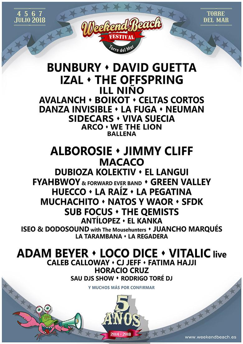 weekend-confirmaciones-2018-EDMred David Guetta se suma al cartel de Weekend Beach Festival