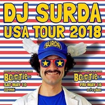 Dj.-SURDA-GIRA-USA-MARZO-2018 Dj. Surda presenta sus fechas para su gira USA 2018