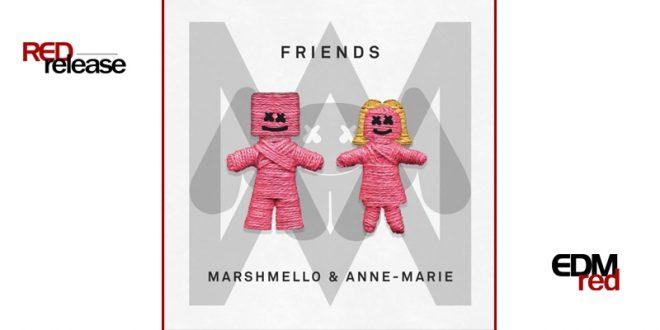 Marshmello Amp Anne Marie Friends Edmred
