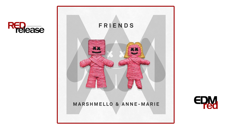 Photo of Marshmello & Anne Marie- FRIENDS