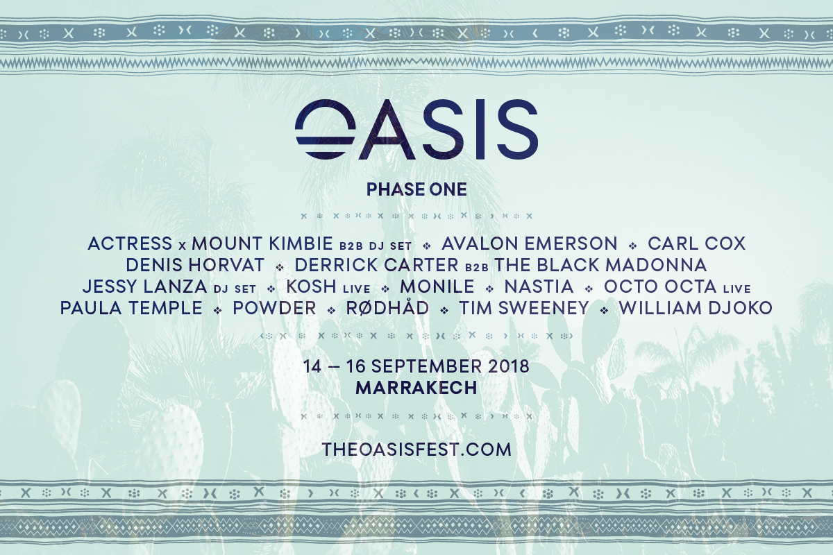 oasis-festival-2018-phase-1-EDMred Oasis Festival 2018 desvela la primera tanda de confirmaciones