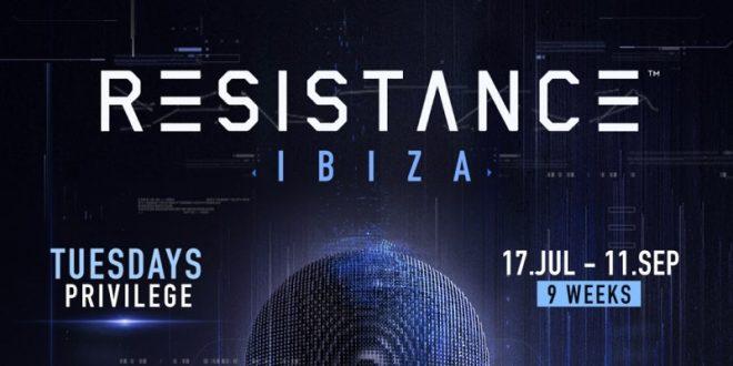 Ultra anuncia Resistance Ibiza 2018