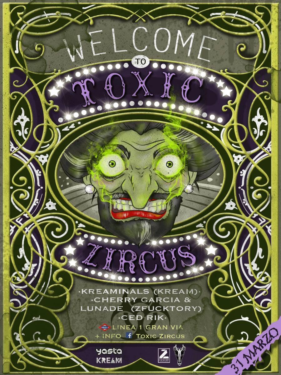 220bb3c2-f219-445d-822a-83882529e546 Toxic Zircus: Bass y PsyTrance en Madrid