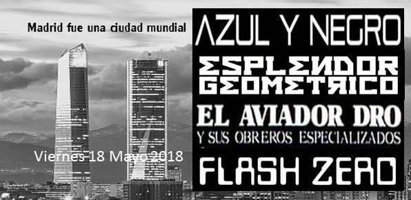 CARTEL-CONCIERTO-MADRID-FUE-UNA-CAPITAL-MUNDIAL-en-EDMred 'Madrid Fue Una Ciudad Mundial' en concierto y vinilo