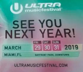 Dias-ultra Reveladas las fechas para Ultra Music Festival 2019