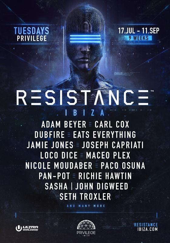 Resistance_Ibiza_season_Final-2018-EDMred RESISTANCE Ultra Ibiza 2018 lineup