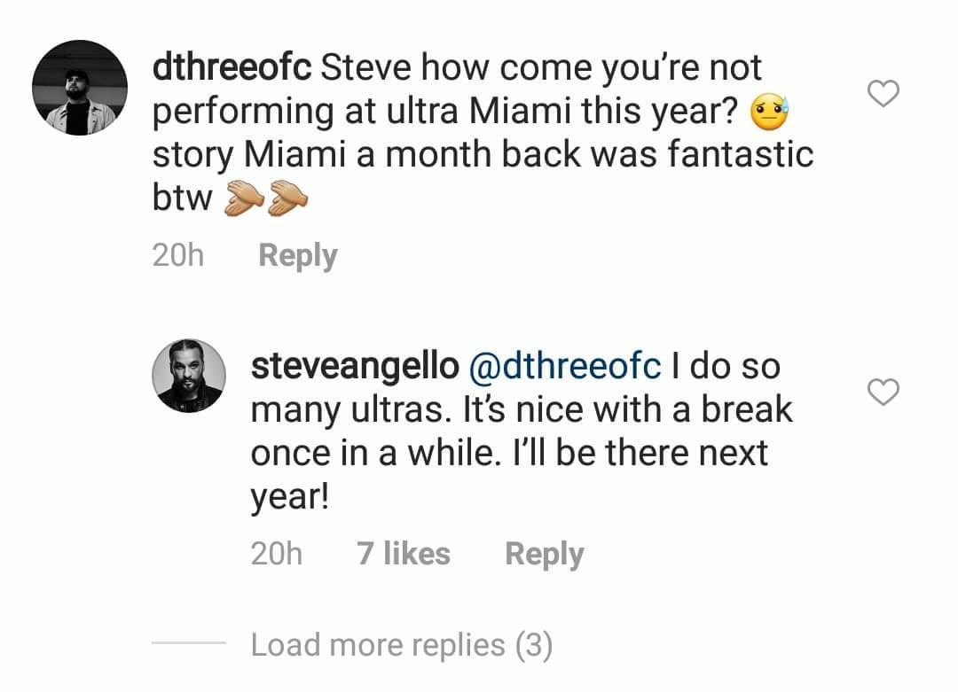 Respuesta-steve-angello Steve Angello no estará en Ultra 2018