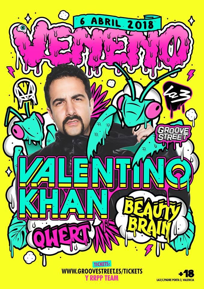 Valentino-Khan-en-Veneno-EDMred Valentino Khan en Valencia con VENENO