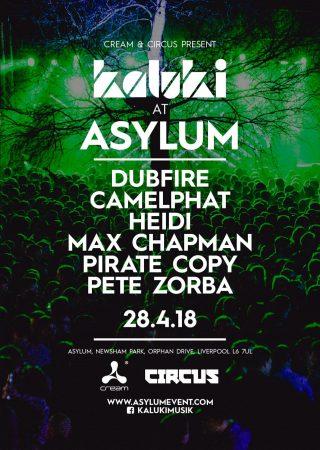 poster-320x450 Circus y Cream presentan Kaluki, The Asylum con Dubfire y Camelphat