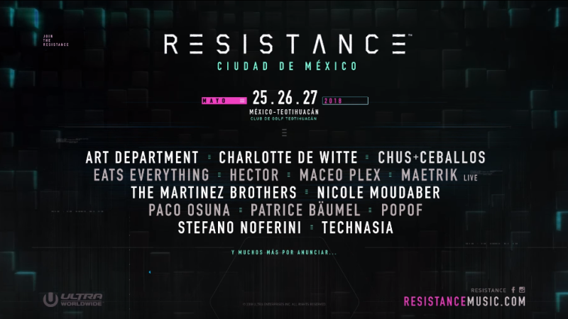 Photo of Cartel completo Resistance México