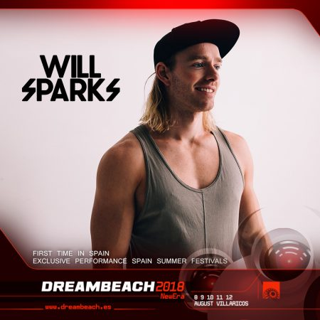 WillSparks_DB_2018-450x450 Dreambeach sorprende con dos confirmaciones exclusivas