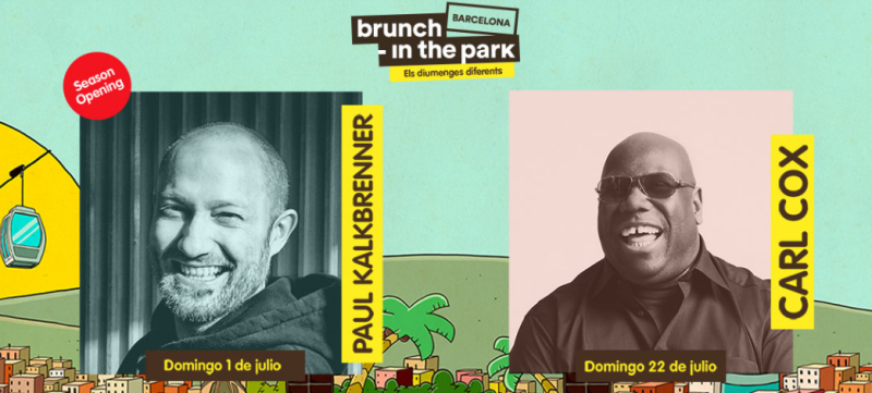 brunch-in-the-park-barcelona Paul Kalkbrenner y Carl Cox en Brunch In The Park Barcelona