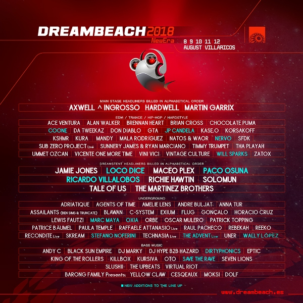 cartel-comopleto-dreambeach-2018-EDMred-2 Cierre de cartel Dreambeach 2018