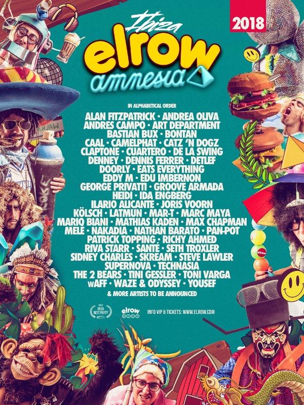 elrow-ibiza-2018-en-EDMred elrow Ibiza 2018 desvela sus primeros nombres
