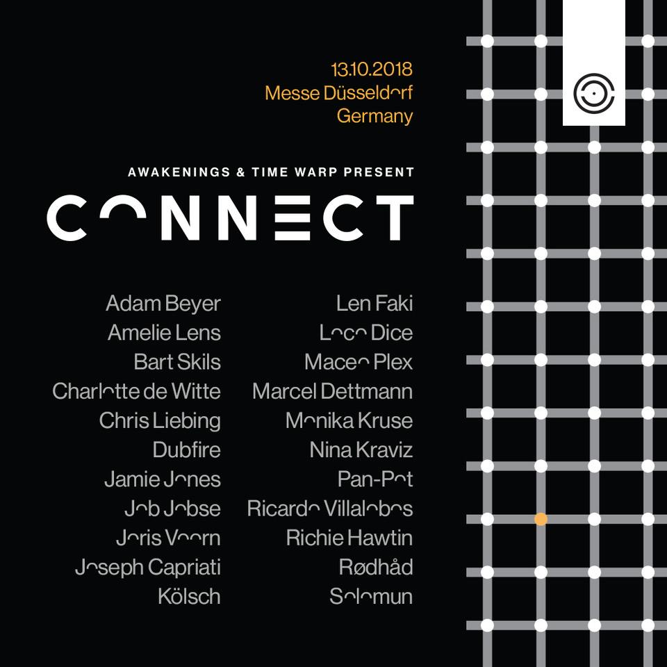 Connect-festival-EDMred Awakenings y Time Warp se unen para un evento mágico: Connect