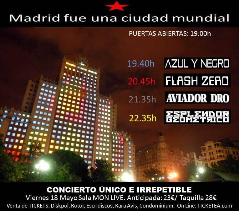 HORARIOS-OFICIALES-MADRID-FUE-UNA-CIUDAD-MUNDIAL Horarios de 'Madrid Fue Una Ciudad Mundial'
