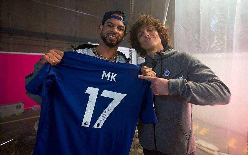 Photo of [VÍDEO] MK colabora con David Luiz, Rüdiger y Courtois