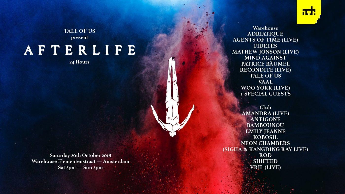 Afterlife-ADE-2018-line-up Afterlife prepara una fiesta de 24 horas para el ADE 2018