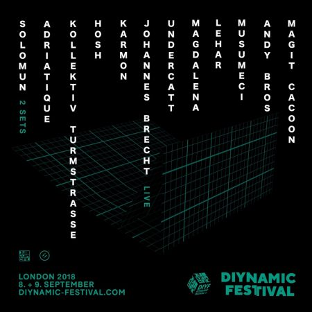 DIYF2018-LONDON-FULL-LINE-UP-450x450 Diynamic Festival London anuncia su cartel completo