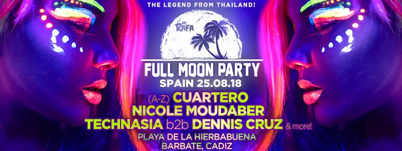 cartel-full-moon-party-EDMred Full Moon Party llega a España