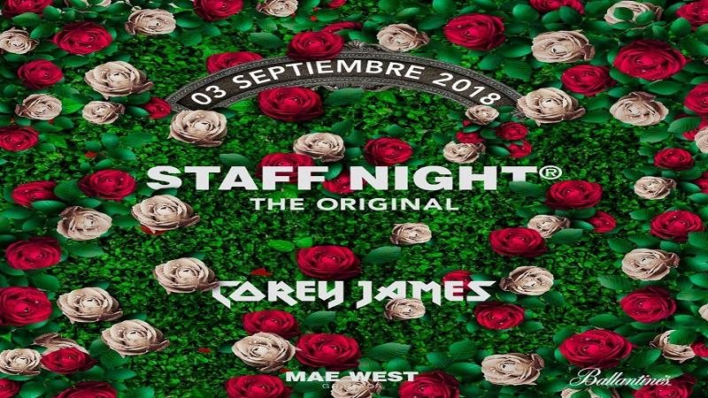 Photo of La Staff Night de Mae West Granada estará pilotada por Corey James