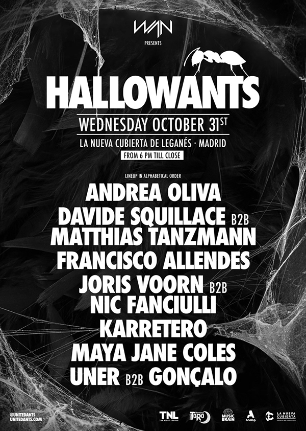 cartel-hallowants-2018-en-EDMred HallowANTS desvela su cartel
