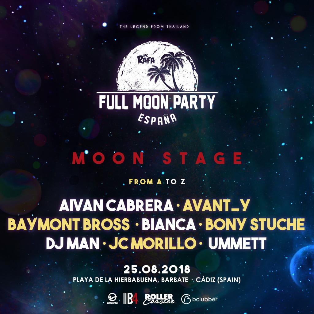 e379851d-e6b2-4f35-827f-9c193c0bd00a Full Moon Party cierra su cartel añadiendo un nuevo stage