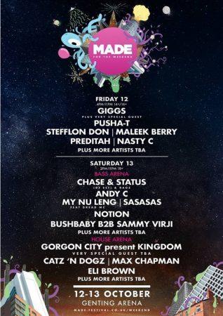 image028-318x450 MADE For The Weekend, el nuevo concepto de festival indoor en Birmingham