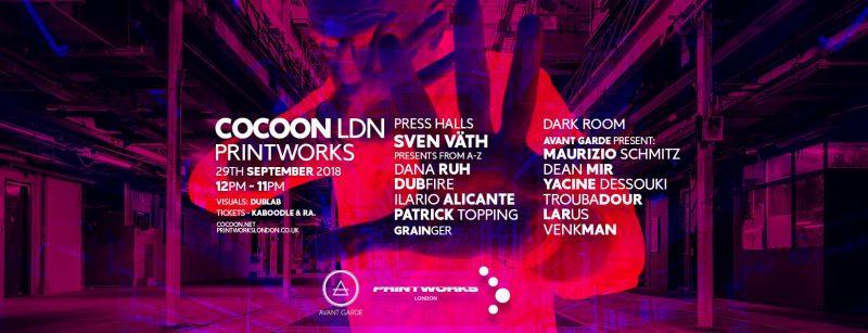 42202110_1261124757360066_374262470920896512_o-800x307 Cocoon se prepara para el opening party de Printworks London