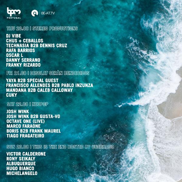 BPMPT18-BE-ATTV-StreamingSchedule Retransmisión The BPM Festival 2018