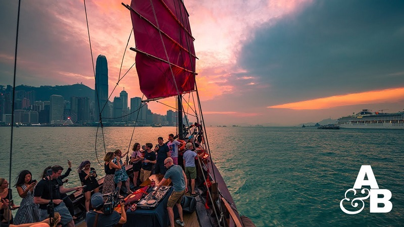 Photo of [VÍDEO] Warm Up set de Above & Beyond para su ABGT300 desde Hong Kong
