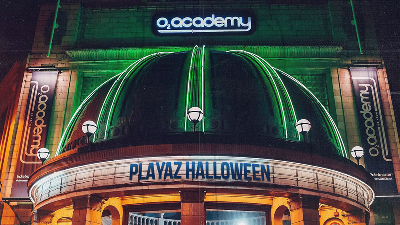 Photo of Playaz Recordings aterriza en O2 Academy Brixton, Londres, por Halloween