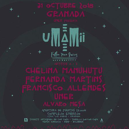 Umamii-EDMred-450x450 Uner llevará su espectáculo Umamii a Granada en la noche de Halloween