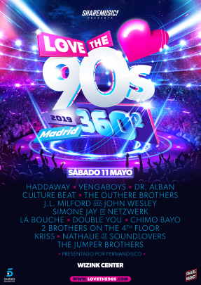 love-the-90s-madrid-2019-en-EDMred Vuelve la gira Love the 90's