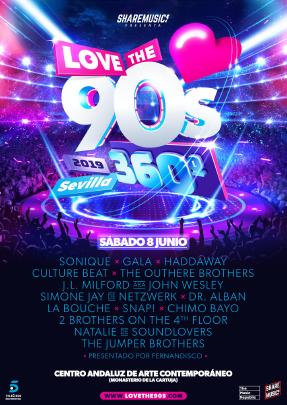 love-the-90s-sevilla-2019-EDMred Vuelve la gira Love the 90's
