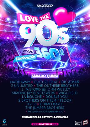 love-the-90s-valencia-2019-en-EDMred Vuelve la gira Love the 90's