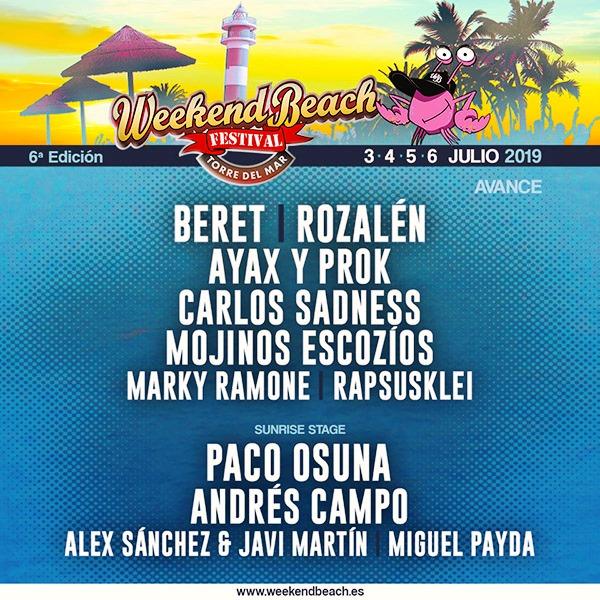 WB_7b46 Primeros artistas electrónicos para Weekend Beach Festival 2019