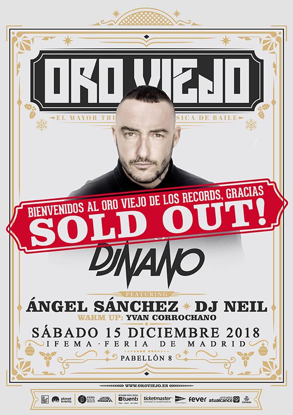 cartel-Oro-viejo-sold-out-en-EDMred Sold Out para Oro Viejo by Dj Nano
