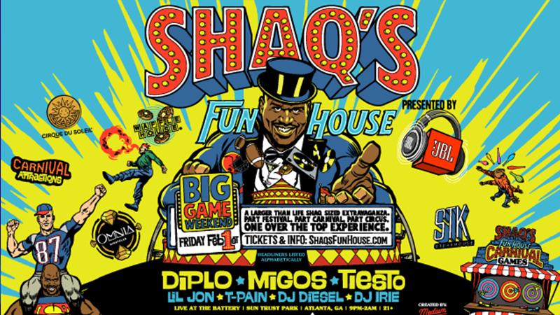 Photo of Shaq's Fun House, el fiestón que ha preparado Dj Diesel