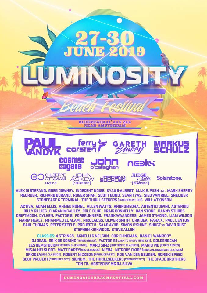 luminosity_beach_festival_2019_lineup Luminosity Beach Festival anuncia su cartel completo para 2019