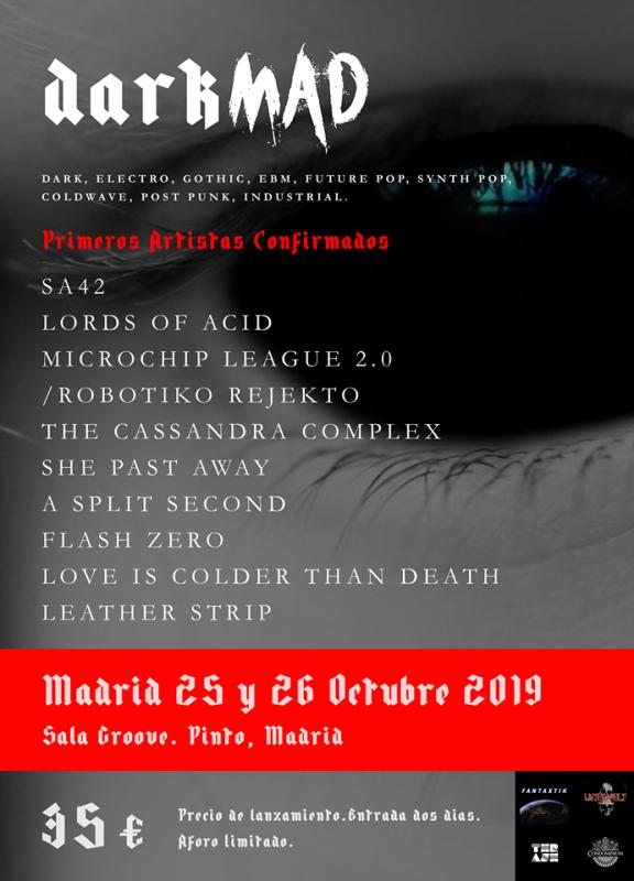 CARTEL-DARKMAD-2019-EDMred Darkmad 2019, a la felicidad por la oscuridad